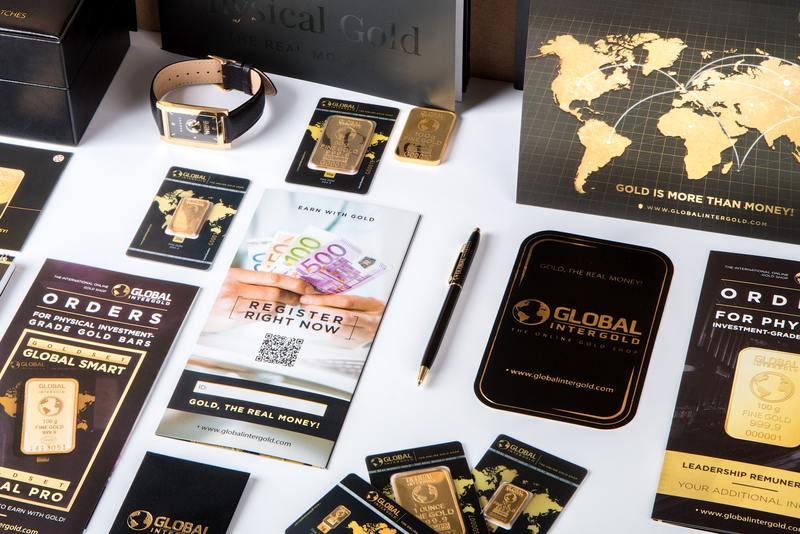 objets de luxe montre billets stylo