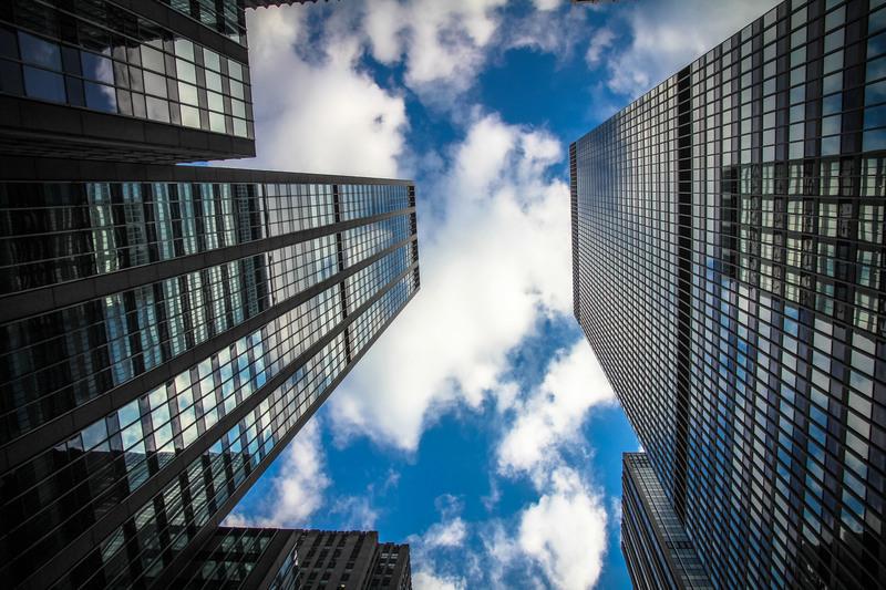 immeubles vue de haut