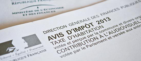 avis de taxe d'habitation 2013