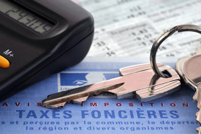 exemple calcul taxe foncière