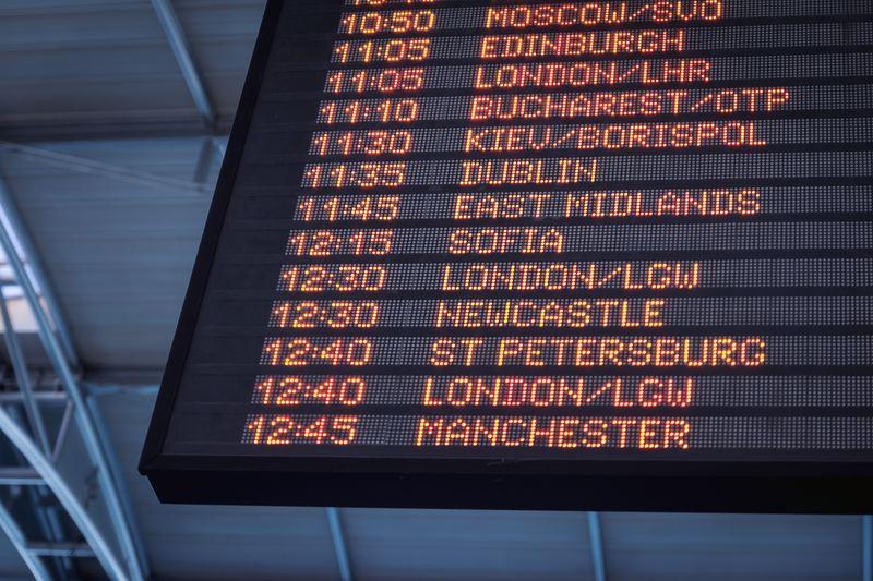 aéroport horaires avions