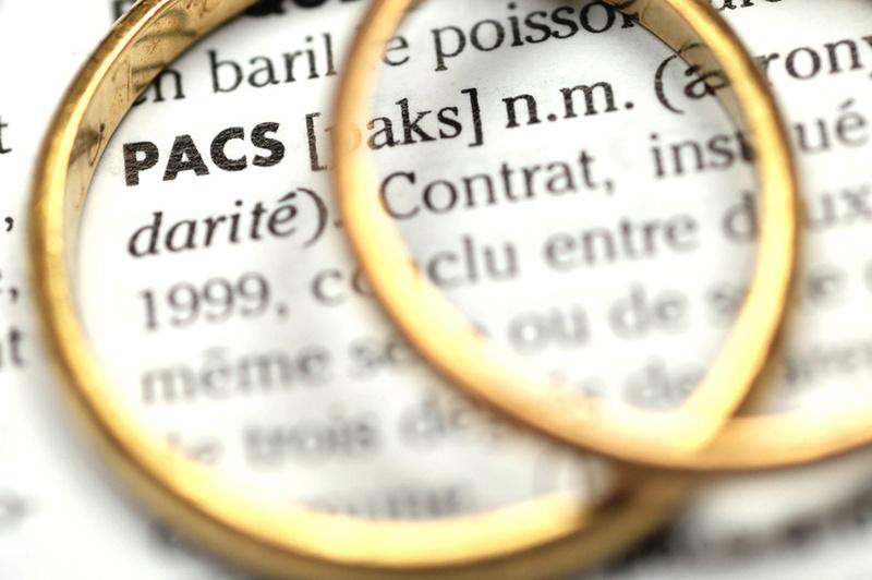 alliances contrat mariage pacs