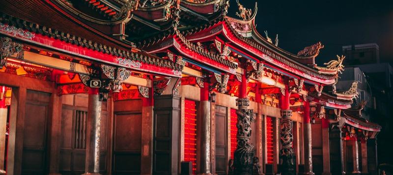 Lungshan Temple, Taiwan