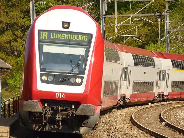train Luxembourg rail