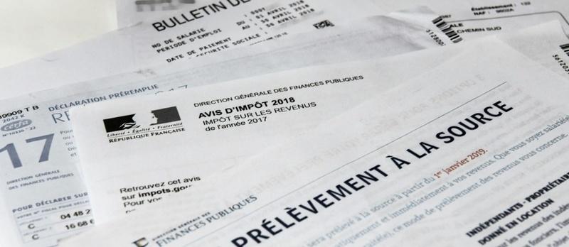 prélèvement à la source bulletin de paie impôt sur le revenu