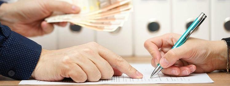prêt personnel sans justificatif : contrat contre billets