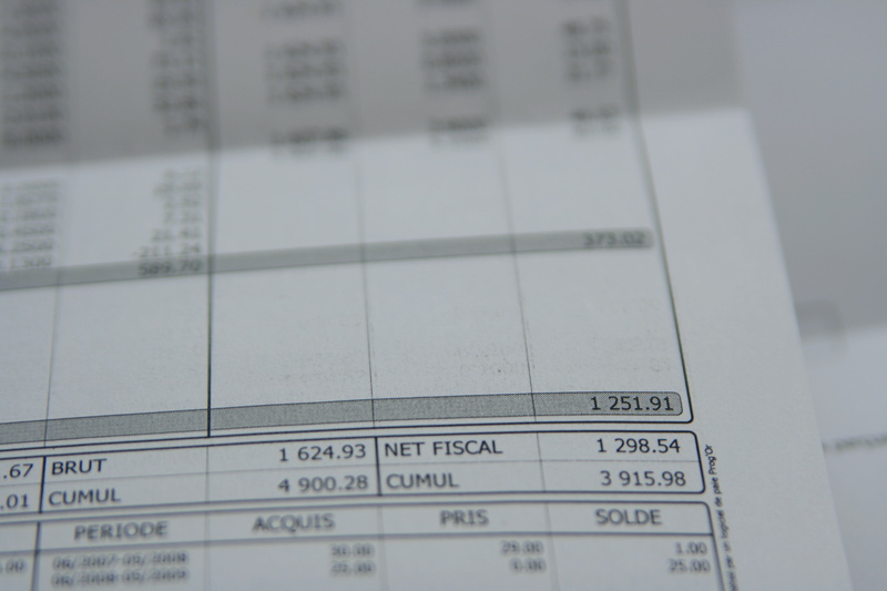 taux de cotisation salariale