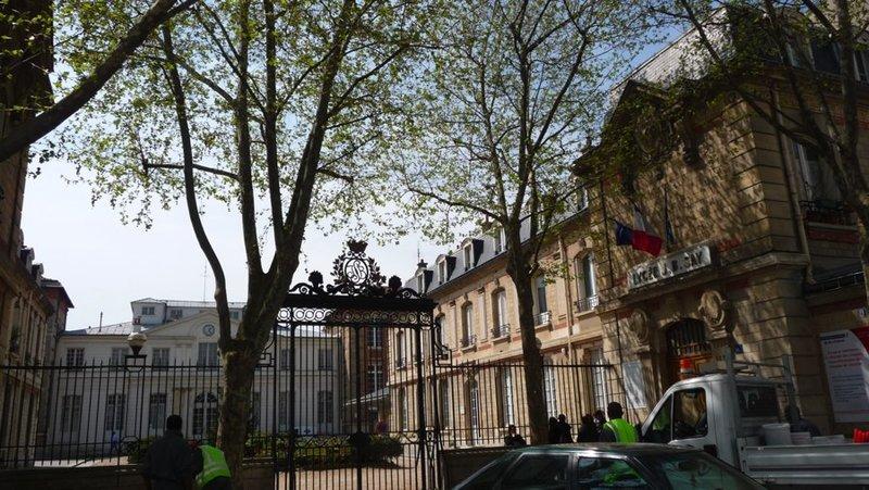 centre des impots paris