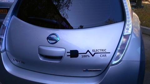 voiture électrique amortissement