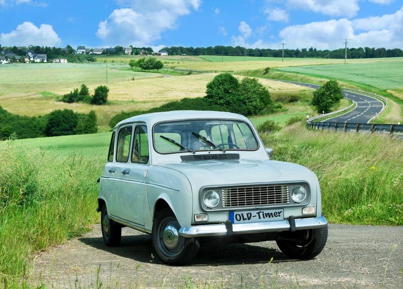 Renault 4 l'une des voitures préférés des français