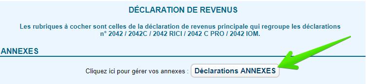 déclaration d'impôt 2019
