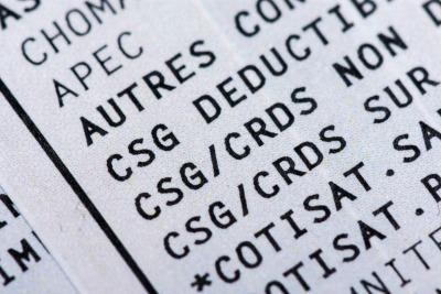 csg déductible impôt